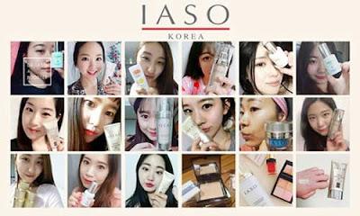 Thương hiệu mỹ phẩm IASO Hàn Quốc