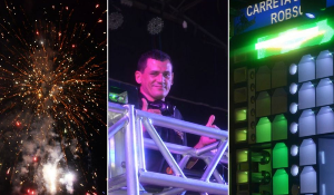 Queima de fogos e música celebram chegada de 2020 em Jussiape