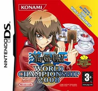 Yu-Gi-Oh! World Championship 2008, NDS, Español, Mega, Mediafire