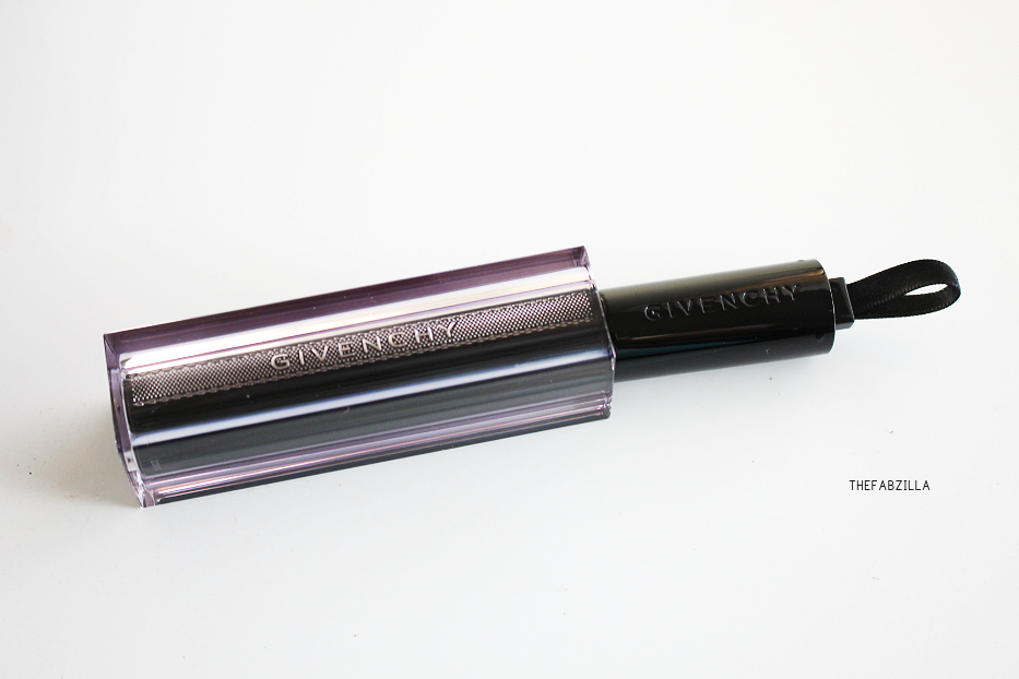 Givenchy Rouge Interdit Vinyl Color Enhancing Lipstick, Noir Revelateur