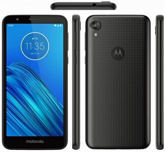 هاتف Motorola Moto E6 فى صورة جديدة