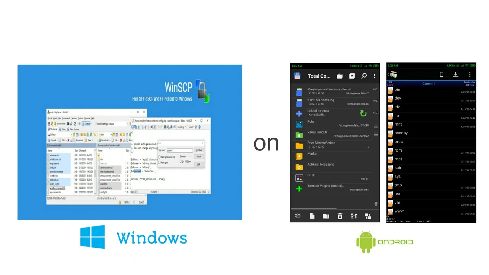 2 Aplikasi Alternatif Pengganti WinSCP Windows di Android