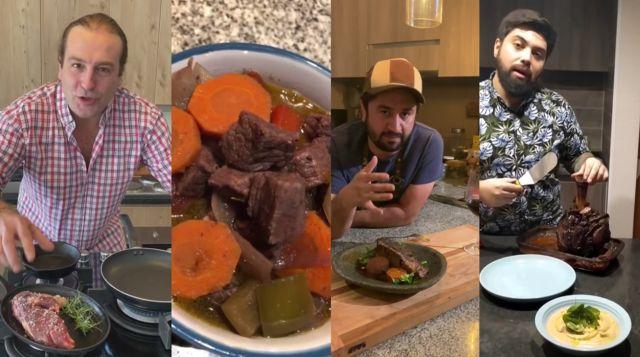 Destacados chefs elaboran recetas con productos de la región de Los Lagos
