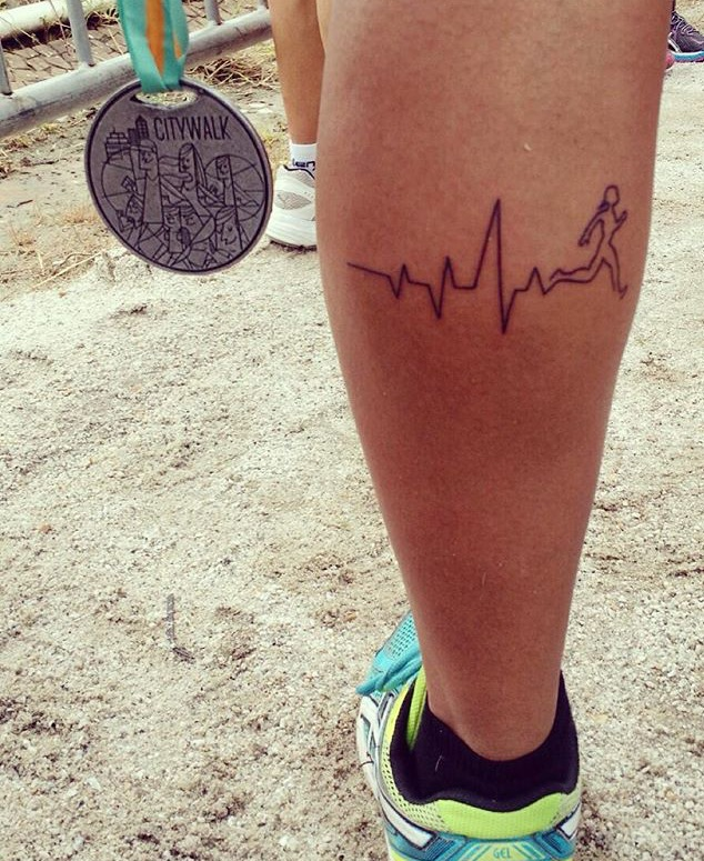 Mania De Corrida Tatuagens De Corrida Como Atletas