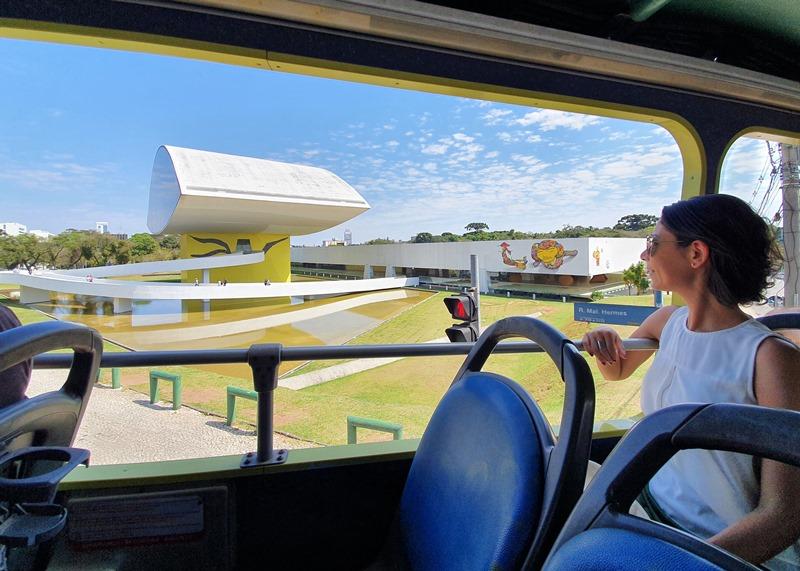 Ônibus Linha Turismo Curitiba
