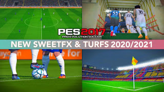 PES 2017 NEW SweetFX MOD 2021