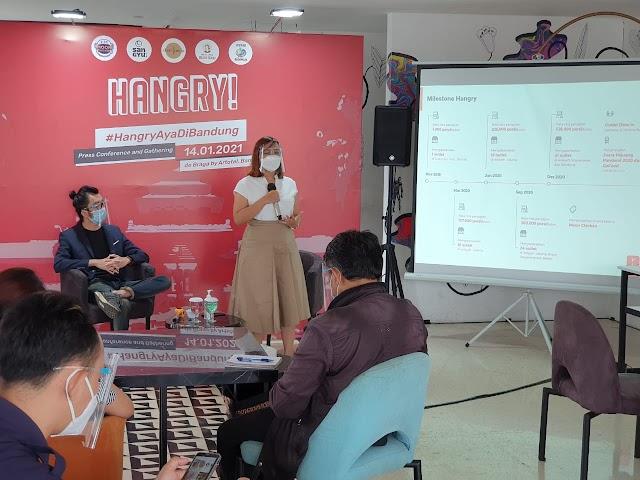 Hangry Hadir di Kota Bandung, Optimis Menjadi Selera Pilihan Masyarakat