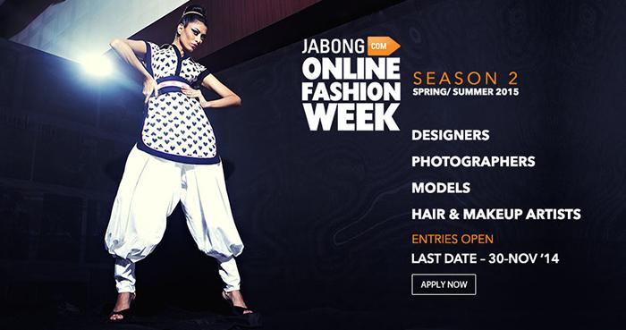 Jabong Online Fashion week