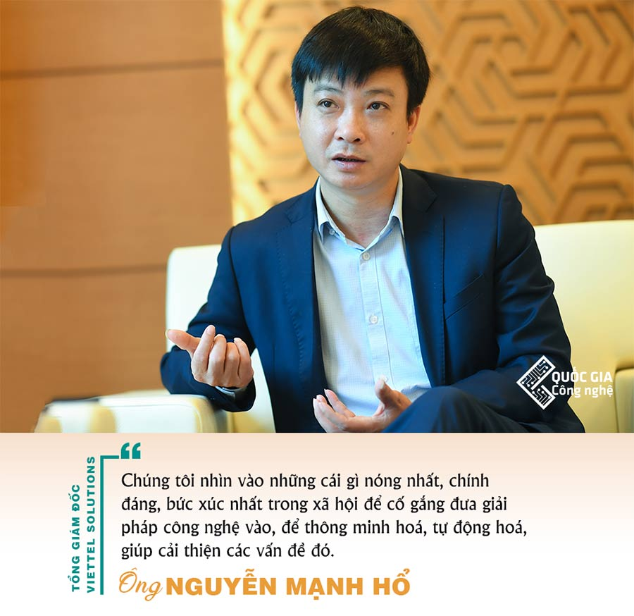 CEO Viettel Solutions và Câu chuyện xây dựng thành phố thông minh - 01