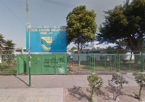 Colegio 1112 VÍCTOR ANDRÉS BELAÚNDE - La Victoria