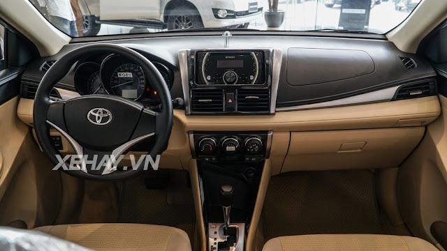 vios 15e cvt 10 - Cận cảnh Toyota Vios 1.5E CVT mới ra mắt Việt Nam
