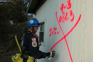 Equipo rescate Katrina Nueva Orleans 2005