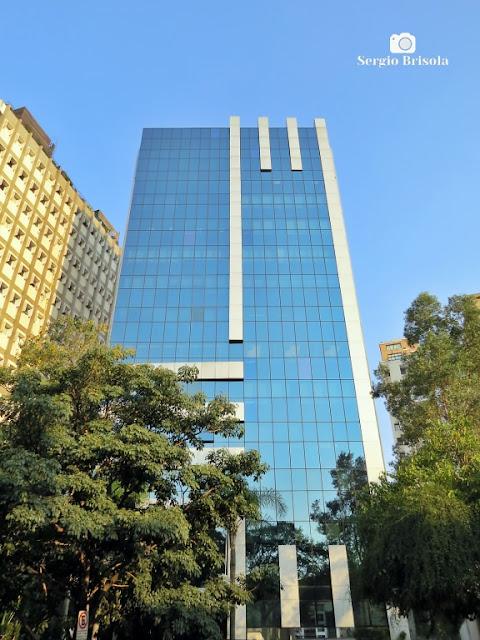 Vista da fachada do Edifício Grande Avenida - Itaim Bibi - São Paulo
