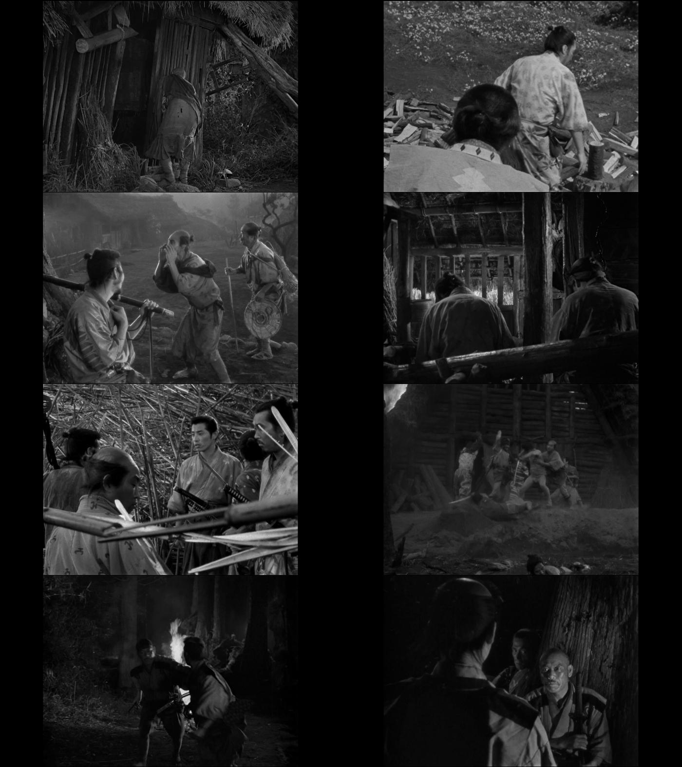 Los siete samurais 1080p