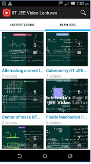 IIT JEE PCM Video Lectures