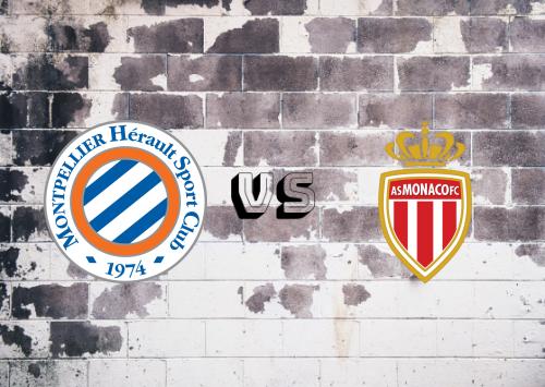 Montpellier vs AS Monaco  Resumen
