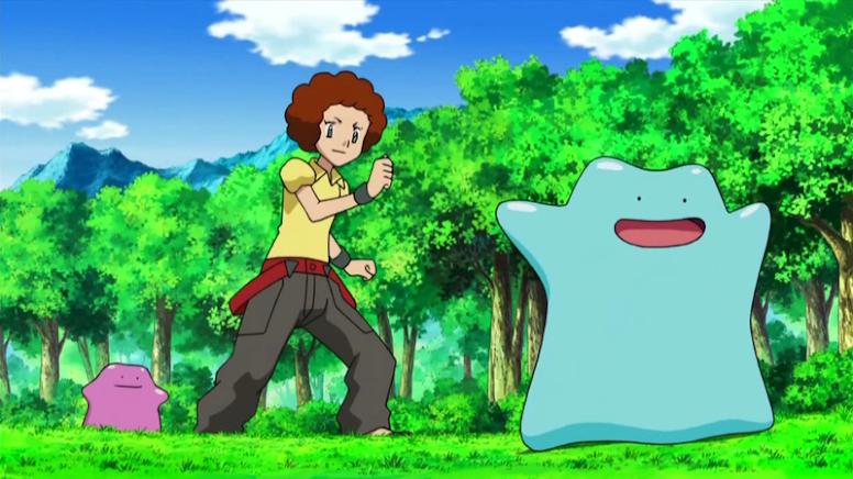 Ditto Shiny Anime Pokémon