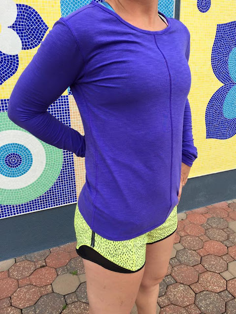lululemon-iris-flower-superb-ls hotty-hot-short