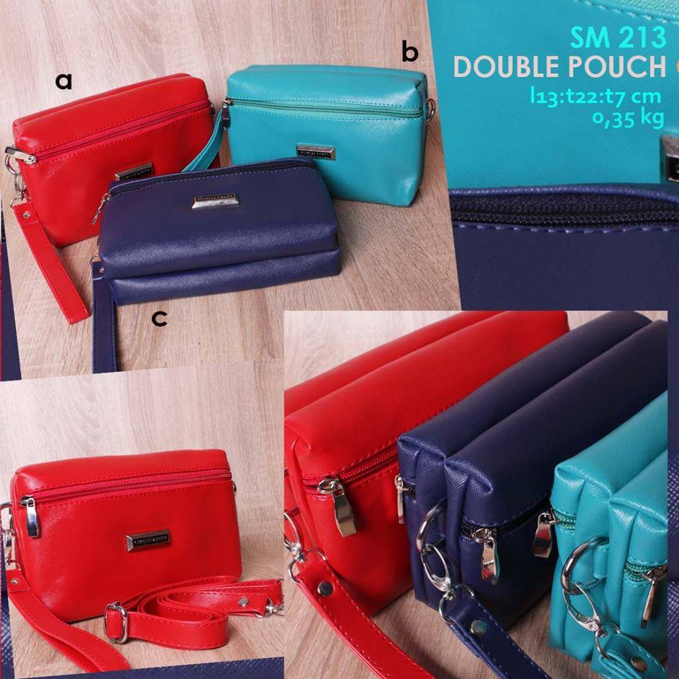 Jual Online Dompet Pouch Wanita Branded Murah Charles and Keith - SM 213