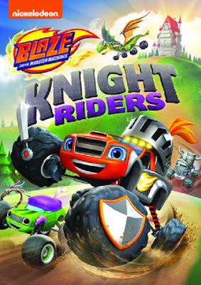 Blaze And The Monster Machines Knight Riders 2020 DVD R1 NRSC Latino