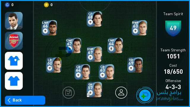 تشكيل اللاعبين بيس 2021