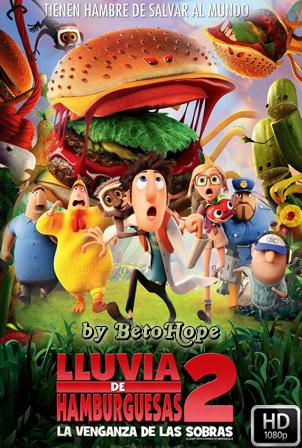 Lluvia de Hamburguesas 2: La Venganza de las Sobras [2013] [Latino-Ingles] HD 1080P  [Google Drive] GloboTV