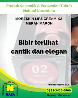 Moreskin Lip Cream 02 Merah Maroon