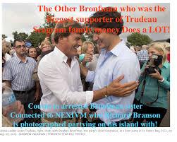 Bronfman Justin Trudeau politics pharmaceuticals vaccines organized crime immigration conflict of interest corruption complicity drugs pharmaceuticals