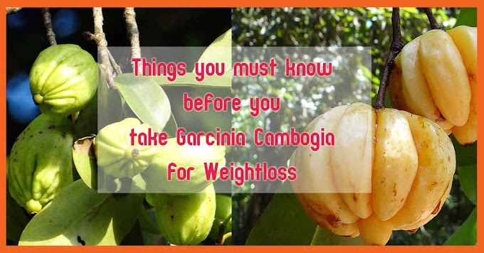 Things you must know before you take Garcinia Cambogia for Weight loss