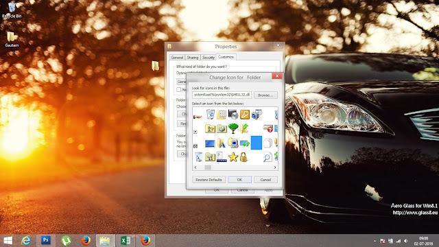 Invisible Folder Icon