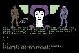 Videojuego Masters of the Universe Super Adventure - Commodore 64