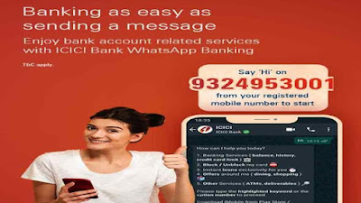 ICICI Bank launches banking services on WhatsApp | ICICI Bank in Social Media