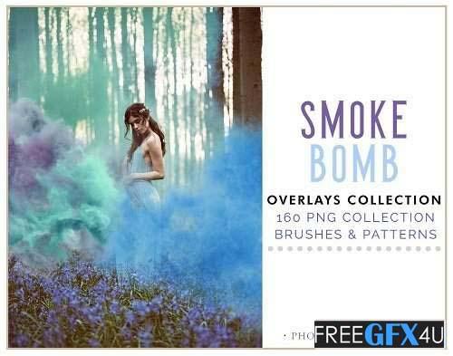 160 Smoke Bomb Overlays