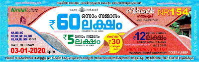 "KeralaLottery.info, ""kerala lottery result 3 1 2020 nirmal nr 154"", nirmal today result : 3/1/2020 nirmal lottery nr-154, kerala lottery result 03-01-2020, nirmal lottery results, kerala lottery result today nirmal, nirmal lottery result, kerala lottery result nirmal today, kerala lottery nirmal today result, nirmal kerala lottery result, nirmal lottery nr.154 results 3-1-2020, nirmal lottery nr 154, live nirmal lottery nr-154, nirmal lottery, kerala lottery today result nirmal, nirmal lottery (nr-154) 3/1/2020, today nirmal lottery result, nirmal lottery today result, nirmal lottery results today, today kerala lottery result nirmal, kerala lottery results today nirmal 3 1 20, nirmal lottery today, today lottery result nirmal 3-1-20, nirmal lottery result today 3.1.2020, nirmal lottery today, today lottery result nirmal 3-1-20, nirmal lottery result today 03.01.2020, kerala lottery result live, kerala lottery bumper result, kerala lottery result yesterday, kerala lottery result today, kerala online lottery results, kerala lottery draw, kerala lottery results, kerala state lottery today, kerala lottare, kerala lottery result, lottery today, kerala lottery today draw result, kerala lottery online purchase, kerala lottery, kl result,  yesterday lottery results, lotteries results, keralalotteries, kerala lottery, keralalotteryresult, kerala lottery result, kerala lottery result live, kerala lottery today, kerala lottery result today, kerala lottery results today, today kerala lottery result, kerala lottery ticket pictures, kerala samsthana bhagyakuri"