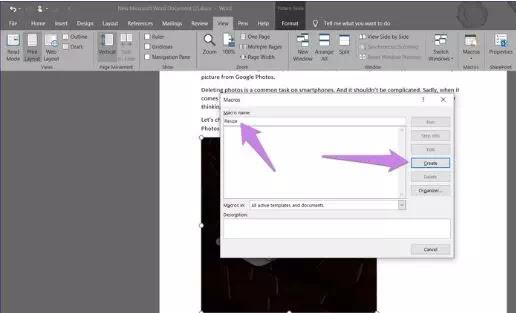 Mengubah Ukuran Semua Gambar Menjadi Sama di Microsoft Word-3