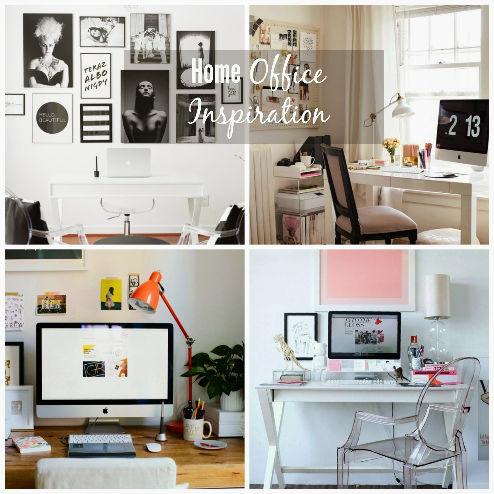 Home Inspiration: Home Office Inspiration