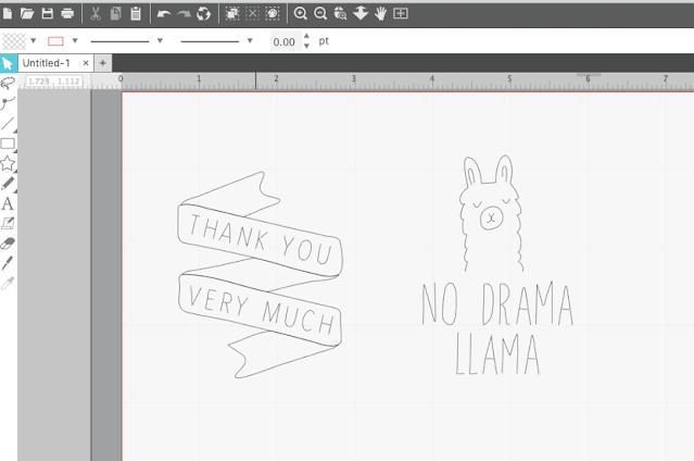cameo 4, cameo 4 plus, paper crafts, sketch and cut, sketch pens