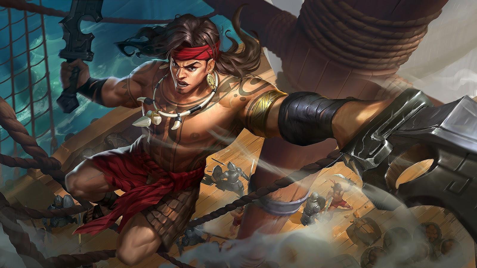 Wallpaper Lapu-Lapu Great Chief Skin Mobile Legends HD for PC - Hobigame.net