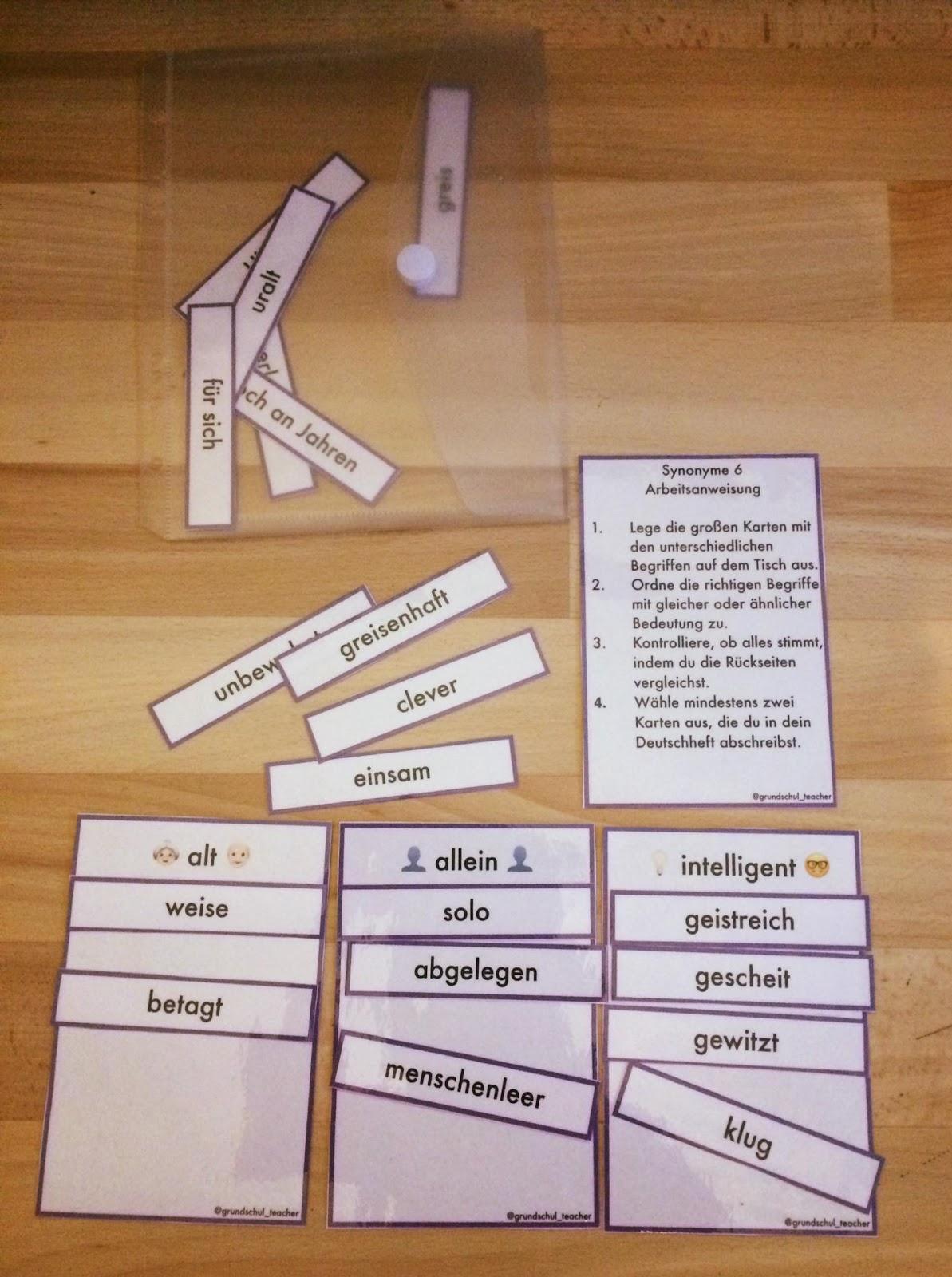 Synonyme hnliche bedeutungen aktiv lernen teil 5 6 7 - Helfen synonym ...
