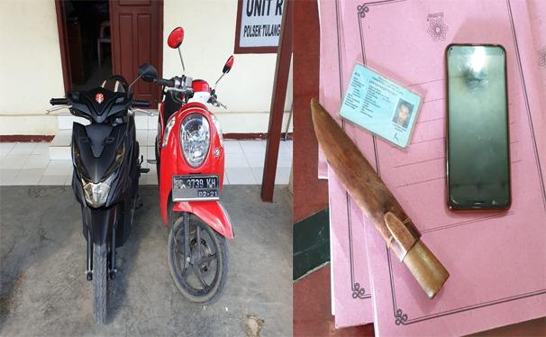 Dua Warga Lampung Utara Ditangkap Polisi Mencuri Sepeda Motor Honda Scoopy