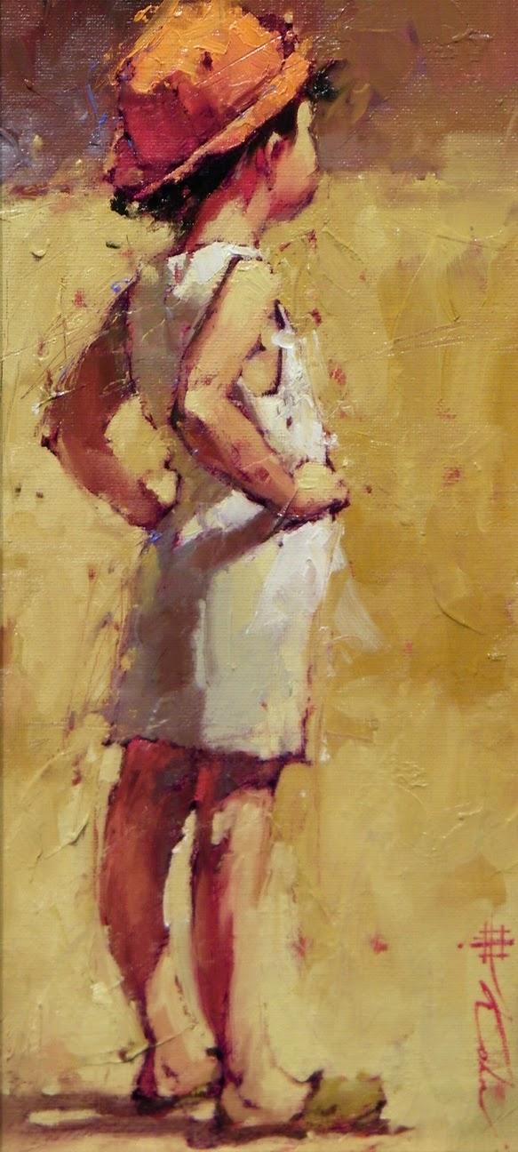 Sonhando Acordado - Andre Kohn e suas pinturas - Impressionismo Figurativo