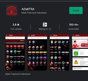 Cara login aplikasi AEMITRA