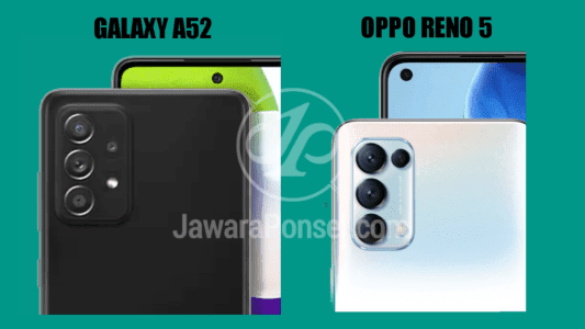 Perbandingan Galaxy A52 dan Oppo Reno 5