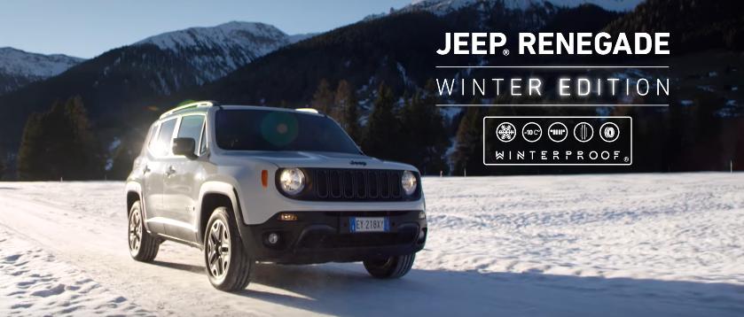 Canzone Jeep pubblicità Renegade Winter Edition con Foba Foba Song - Musica spot Novembre 2016