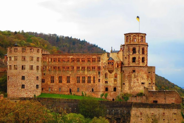 Day trips from Frankfurt: Heidelberg Castle