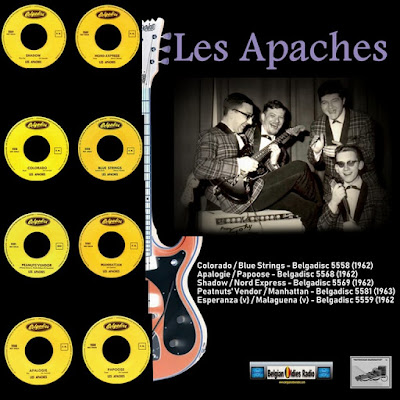 Les Apaches - Singles 62-63