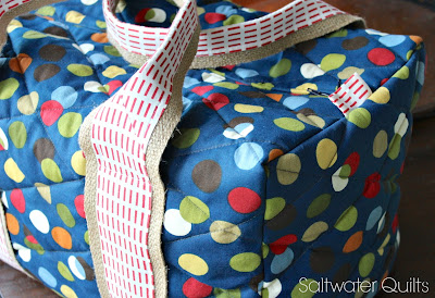 Quilted Duffle Bag | Saltwater Quilts