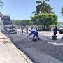 Teve início nesta quinta-feira a obra de pavimentação do centro comercial e entrada do distrito de Santa Rosa de Lima