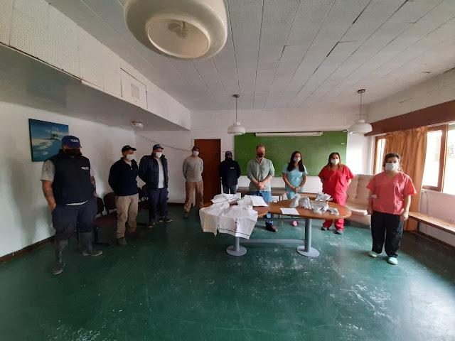 El hospital recibió donaciones de Aguas de Balcarce