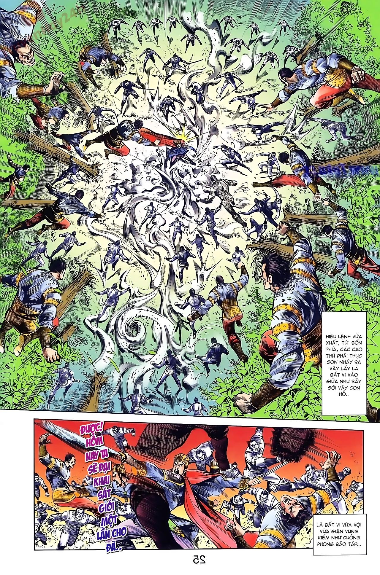 Tần Vương Doanh Chính chapter 45 trang 23